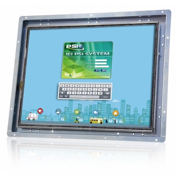 """12"""" Open Frame Industrial Monitor LCD-KIT-F12A"""