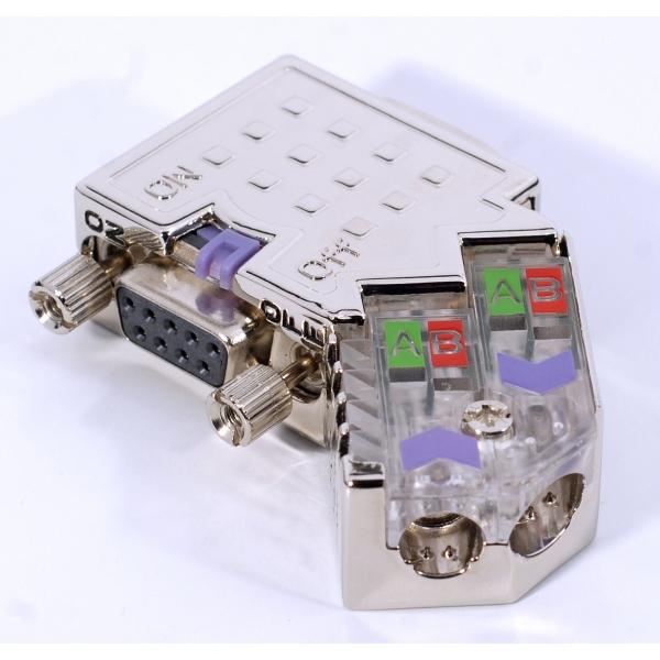 Connecteur Profibus 45° - 972-0DP20