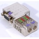 Connecteur Profibus 90° - 972-0DP10