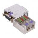 Connecteur Profibus 90° - 972-0DP01