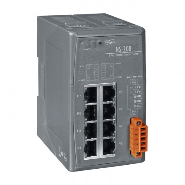 Switch Industriel 8 Ports NS-208