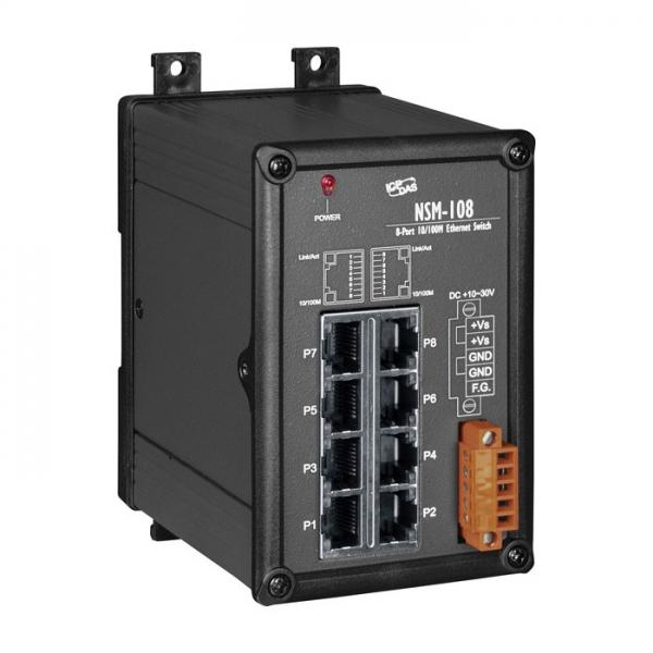 Switch Industriel 8 Ports NSM-108