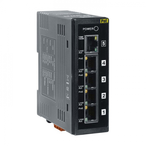 Switch PoE Industriel 5 Ports NS-205PSE
