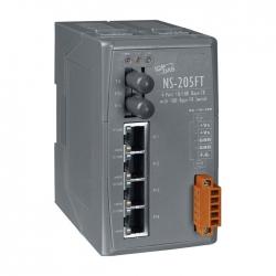 4-port 10/100 Mbps Ethernet with 1 fiber port Switch NS-205FT