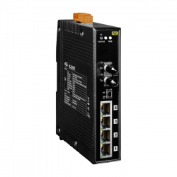 Switch Ethernet 4 Ports PoE avec 1 Port Fibre NS-205PFT