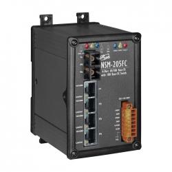4-port 10/100 Mbps Ethernet with 1 fiber port Switch NSM-205FC