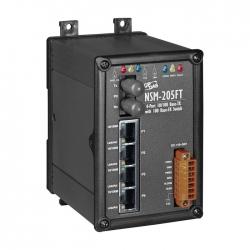 4-port 10/100 Mbps Ethernet with 1 fiber port Switch NSM-205FT