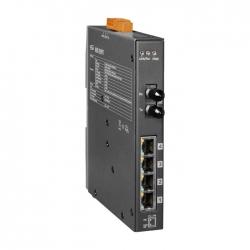 4-port 10/100 Mbps PoE with 1 fiber port Switch NSM-205PFT