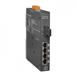 4-port 10/100 Mbps PoE with 1 fiber port Switch NSM-205PFC