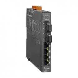 4-port 10/100 Mbps Ethernet with 2 fiber ports Switch NSM-206AFC
