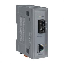 Industrial 10/100 Base-TX to 100 Base-FX Media Converter NS-200AFCS-40T