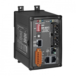 5-Port Real-time Redundant Ring Switch with 2-Fiber Port RSM-405FCS
