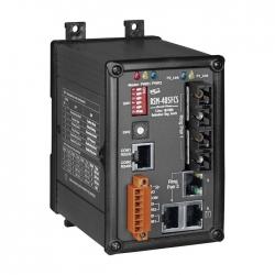 5-Port Real-time Redundant Ring Switch with 2-Fiber Port RSM-405FCS